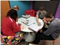 Students create a project