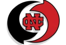 red and black NC logo