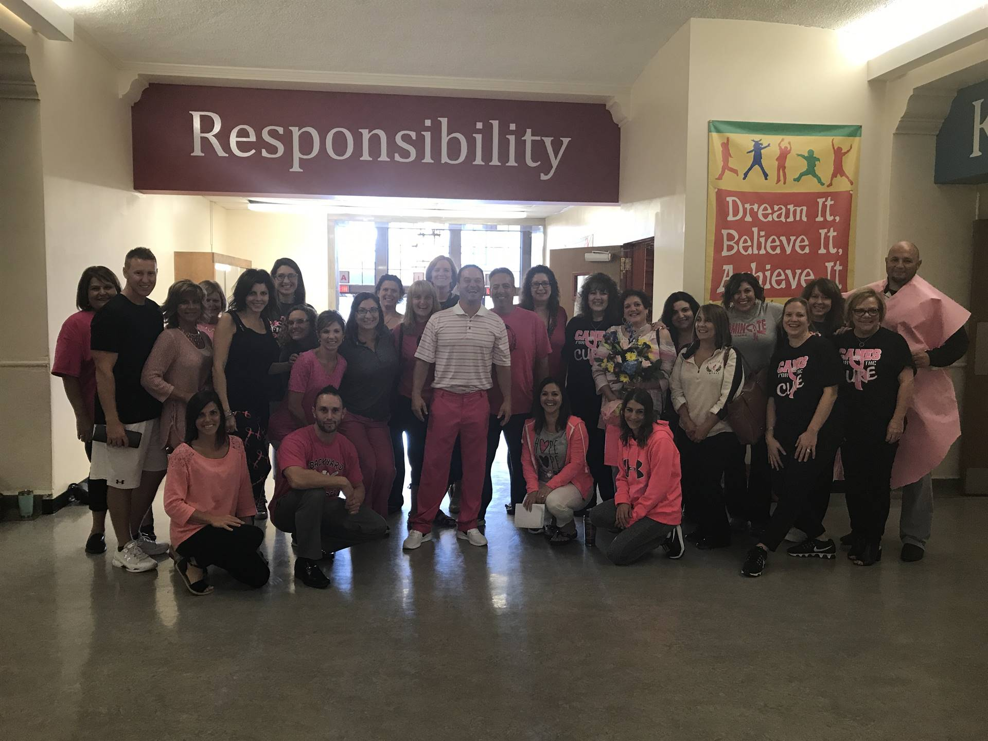 GW Faculty and Staff Participates in Pink Out!