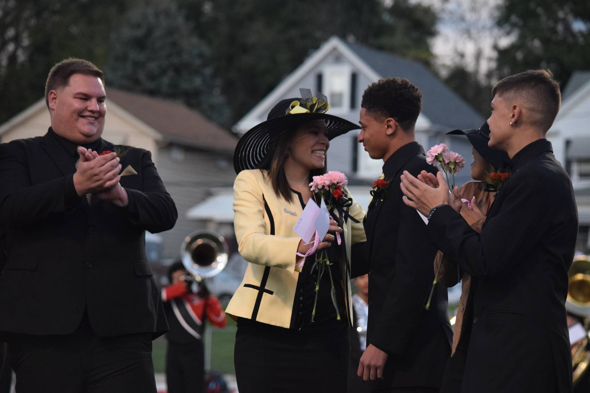 Mariah Shepherd is announced as the 2017 Homecoming Queen!