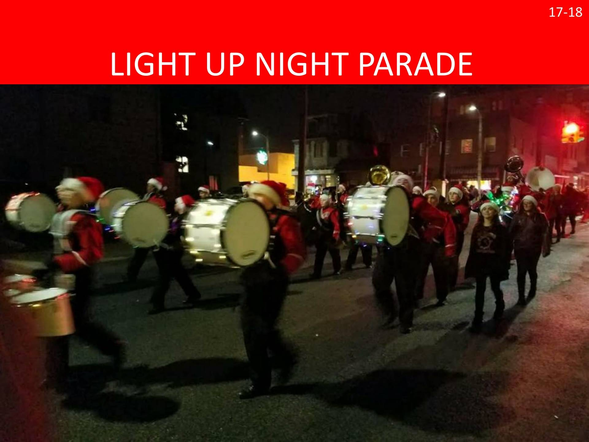The Red Hurricane Marching Band