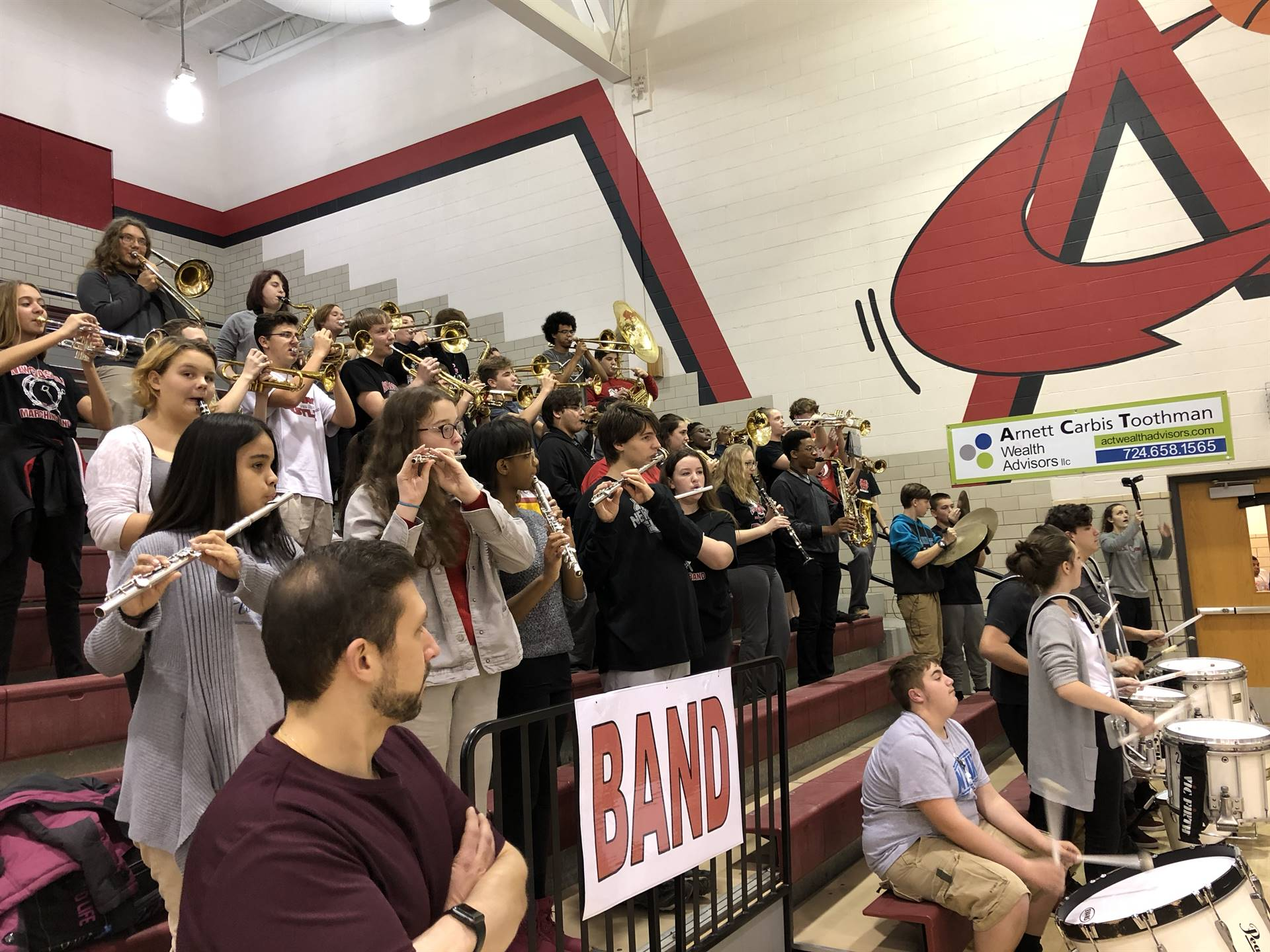 The New Castle Pep Band