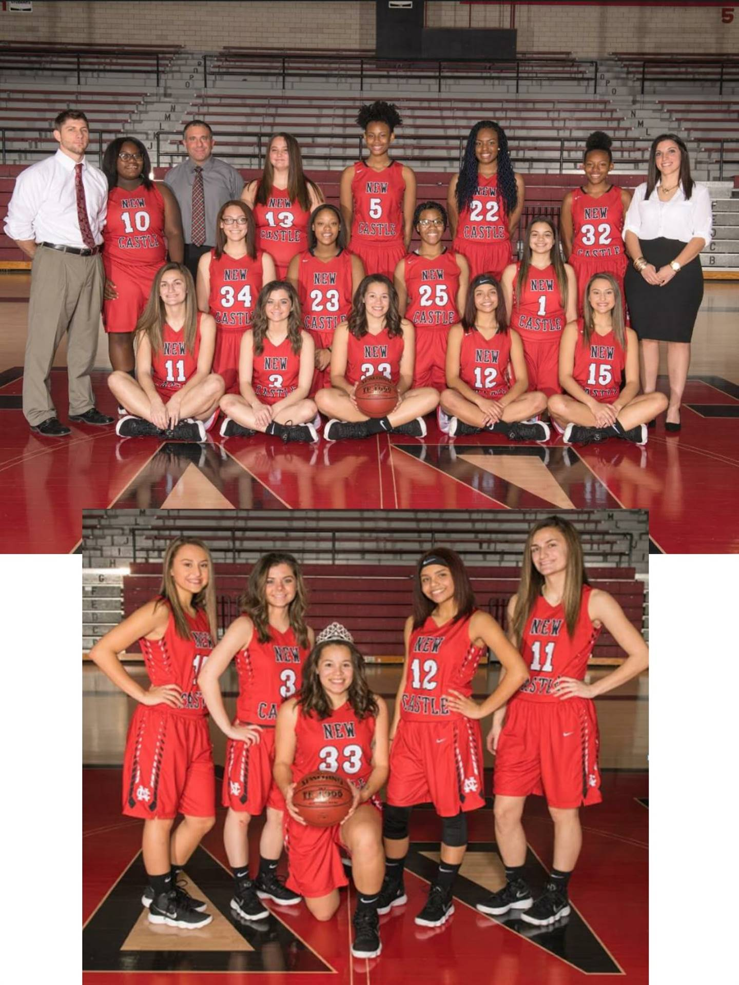 2018 Varsity Girls Basketball Team