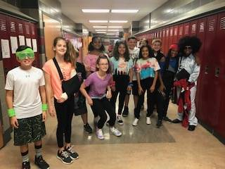 "Spirit Week ""Decades Day"""