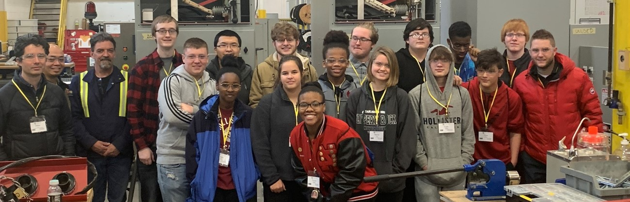 Robotics and Engineering Field Trip to Premier Automation